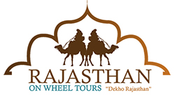 rajasthan on wheel tours logo design2